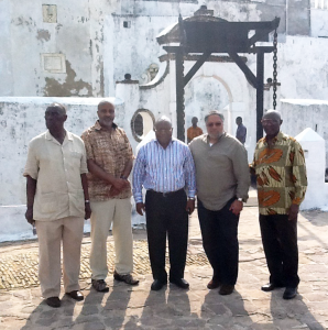 Museum Team at Elmina